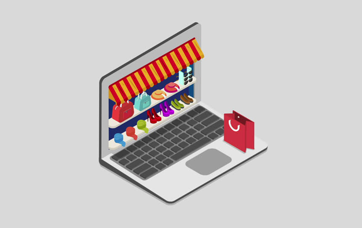 تنوع محصولات در فروشگاه اینترنتی